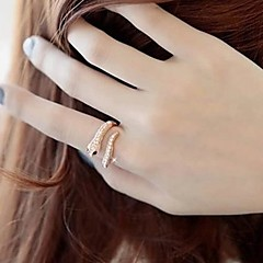 Lureme®Punk Exaggerated Snake Shape Ring