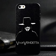 3D Night Killer Painting Relievo PC Hard Case for iPhone4/4S
