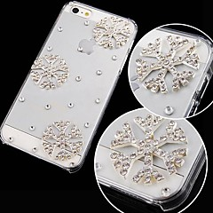 Snowflake with Diamond Back Case for iPhone 4/4S