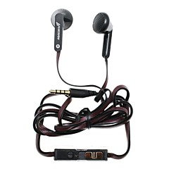 YUEDIAN YD-230 3.5mm Hi-Fi Volume Controllable Music In-ear Earphone for iPhone+More Smart Phone