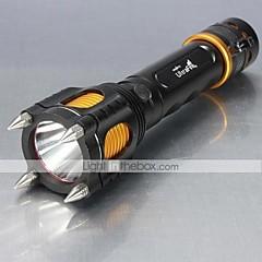 5 LED Lommelygter 1000 Lumen Tilstand XM-L2 T6 Justerbart Fokus Nedslags Resistent Glidesikkert Greb Genopladelig Slag Kant for