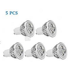 5 pcs GU10 5 W 1 350-400 LM Warm White PAR Dimmable Spot Lights/Par Lights AC 220-240 V