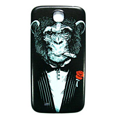 AnimalChimpanzee Pattern Thin Hard Case Cover for Samsung Galaxy S4 I9500