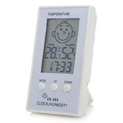 """kasvot kuvio 2.3 """"LCD älykäs sähköinen lämpömittari kosteusmittari vauvan huone"""