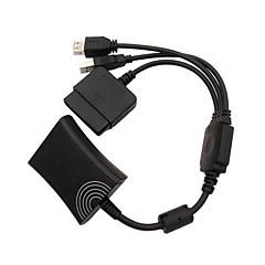 ps2 aan xbox 360 ps3 controller converter kabel snoer voor ps3 Microsoft Xbox 360
