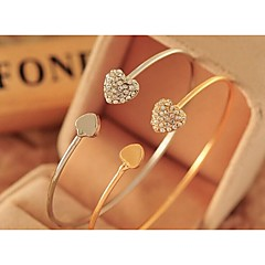Love Is Full Of fashion And Personality You Drill Heart Love Bracelet