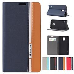 valikoituja värejä PU nahka koko kehon kotelo jalustalla ja korttipaikka Samsung Galaxy S5 i9600