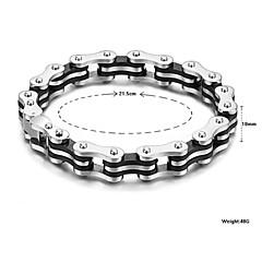 Personality Has Fine Bracelet Chain Man Titanium Steel