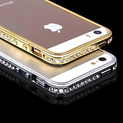 DSB® Luxury Crystal Rhinestone Diamond Bling Metal Bumper Case for iPhone 5/5S (Assorted Colors)