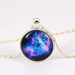 collar de piedras preciosas tiempo estrella galaxia de las mujeres