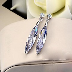 Drop EarringsJewelry 2pcs Silver Stainless Steel / Platinum Plated Wedding / Party / Daily / Casual