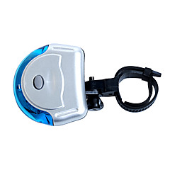 luz traseira da bicicleta, fjqxz 5 levou modo 3 taillight luz azul segurança ufo bicicleta forma (2 * AAA)