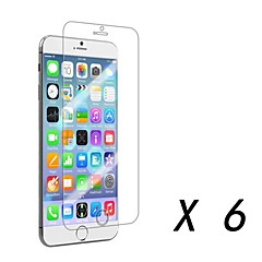 Clear Screen Protector Film for iPhone 6S/6 (6 pcs)