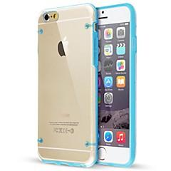 ultra-transparante gloed in de donkere behuizing voor de iPhone 6s 6 plus