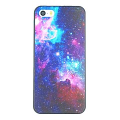 Colorful Starry Sky Pattern PC Hard Back Cover Case for iPhone 5/5S