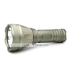 LT-XLusb8010 Rechargeable 3 Modes 1xCree XML T6 Multi-funtional Led Flashlight(1200LM.Built-in Battery.Gray)