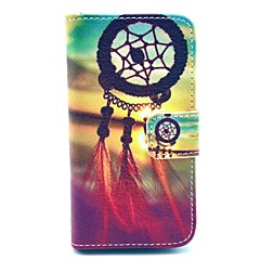 The Eve of Evening Wind Chimes Pattern PU Leather Full Body case for iPhone 4/4S