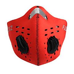 FJQXZ Fietsen/Wielrennen Face Mask Unisex Sneldrogend / Stofbestendig / Winddicht Gaas Rood / Zwart / Blauw / Oranje Fietsen/Fietsen
