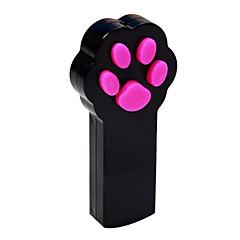 고양이 장난감 레이저 장난감 플라스틱 블랙 / 화이트
