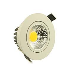 5W Lâmpada de Teto Encaixe Embutido 1 COB 500-550 lm Branco Quente / Branco Frio Regulável AC 220-240 V