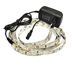 JIAWEN® 2.5M 10W 150x3528SMD 3000-3200K Warm White LED Flexible Strip Light + 2A Power (AC 110-240V)