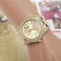 Women's Fashion Rhinestones Number 8 Steel Belt Quartz Wrist Watch(Assorted Colors) Cool Watches Unique Watches