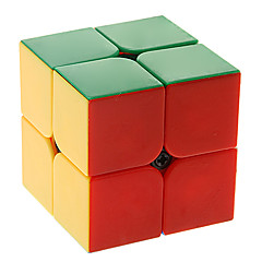 Cubi magici IQ Cube Qiji Due strtati Smooth Cube Velocità Magic Cube di puzzle ABS