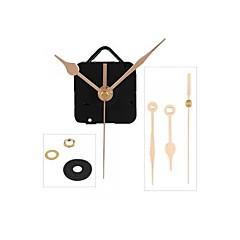 mecanismo de relógio de quartzo movimento mãos ouro peças de reparo diy