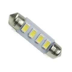 Festoon Car White 2W SMD 5730 6000-6500 Reading Light