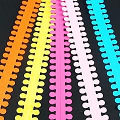5db 1.9cm x 51cm kerek virágszirom Quilling papír beállítása kreatív DIY origami papír gördülő