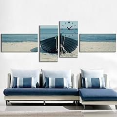 The Sea Anchor Clock in Canvas 4pcs