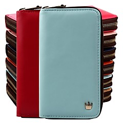 Women'S Multi Propose Envelope Wallet Purse for iPhone And Samsung (Assorted Color)