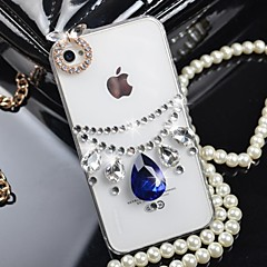 Princess Necklace with  Diamond Hard Back Cover  for iPhone 5 / iPhone 5S