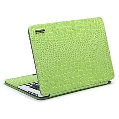 "11,6 support de gaine de protection ""13,3"" en cuir de crocodile rayonnant pour macbook air"