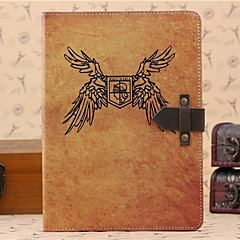 Cow Leather Buckle PU Leather Full Body Case with Stand for iPad 2/3/4