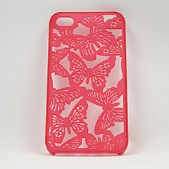 Hollow Out A Butterfly Mobile Phone Protection Shell for iPhone 4/4S (Assorted Colors)