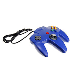 usb n64 Design PC-Controller blau