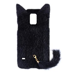 Fashion Plush Mink Style Protective PC Case with Tail for Samsung Galaxy S5 (Assorted Colors)