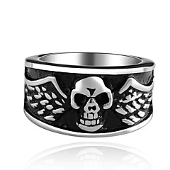 Creative Skulls Super Cool Personality Man Titanium Steel Ring
