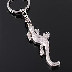 Vysoce kvalitní zinkové slitiny Gecko styl klíčenka