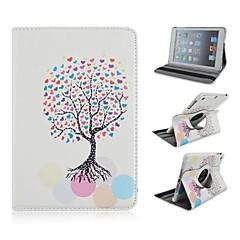 Wishing Tree Pattern PU Leather Full Body Case  for iPad mini 3, iPad mini 2, iPad mini/ mini