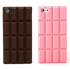 Silicone Chocolate Skin Case Cover Compatible With iPhone 5/5S  (Assorted Color)