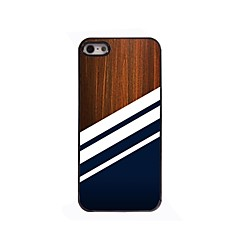 Black Stripe Design Aluminium Hard Case for iPhone 4/4S