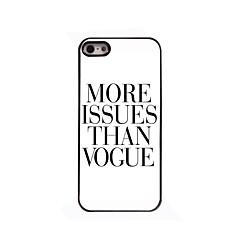 More Issues Than Vogne Design Aluminium Hard Case for iPhone 4/4S