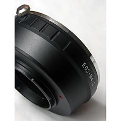 Mikro 4/3 m4 / 3 adaptör e-p1 e-p2 e-p3 E-PL1 e-pl2 g1 GF2 G3 için eos ef objektif