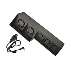Super USB Cooling Fan Cooler 5-Fan for Playstation PS4 Gaming Console