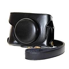 pajiatu® retro pu læder kamera beskyttende tilfældet med skulderrem til Fujifilm x30