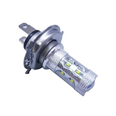 h4 cree ledx12 60w 6500k -7000k wit licht led lamp voor auto (12-24V, 1pc)