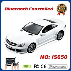 i-control licentie bluetooth benz auto voor iPhone, iPad en Android 01:16 is650