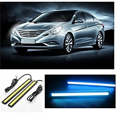 2pcs 17cm 7.5W 600-700LM Daytime Running light Ice-Blue Color High Power COB DRL Waterproof IP68 Daylight(12V)
